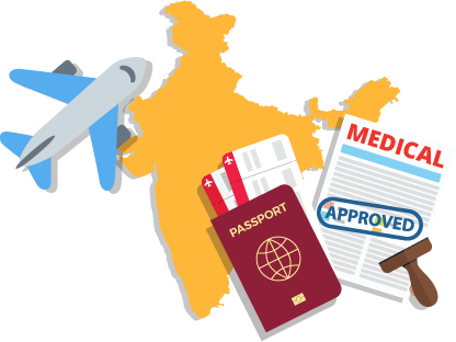 Indian medical VISA