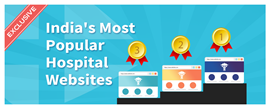 List of India's Most Popular Hospital Website Rankings. Is Your Practice Website Also One of These?