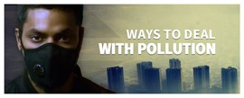 Ways to Deal with Pollution - Free Poster Download