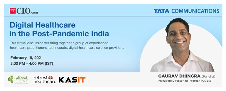 Event - Digital Healthcare in the Post-Pandemic India